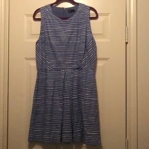 Gap linen dress with pockets